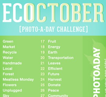 October Instagram Photo-A-Day Challenge