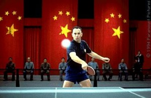 Forest Gump playing Ping Pong, image via Google search