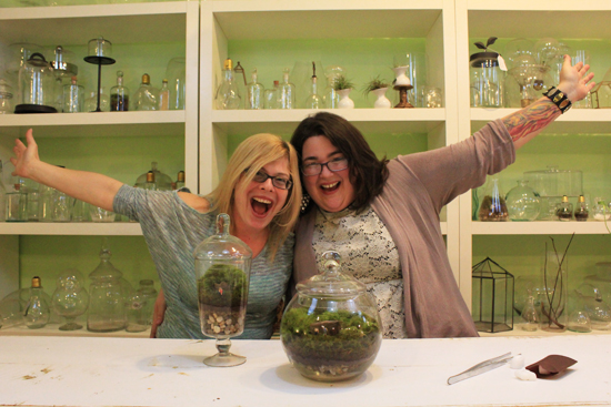 Michelle and Katy | Twig Terrarium Studio Tour | UncommonGoods
