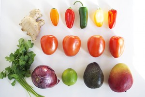 Mango Ginger Salsa ingredients | Inspired to Share on UncommonGoods