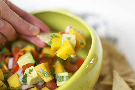 Mango Ginger Salsa Recipe | Inspired to Share on UncommonGoods