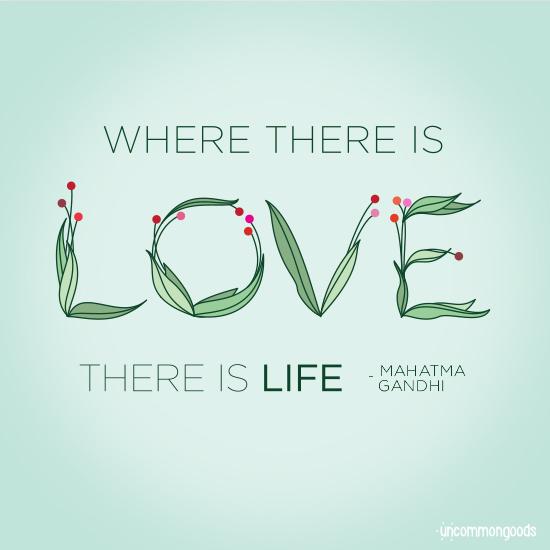 Ghandi quote | UncommonGoods