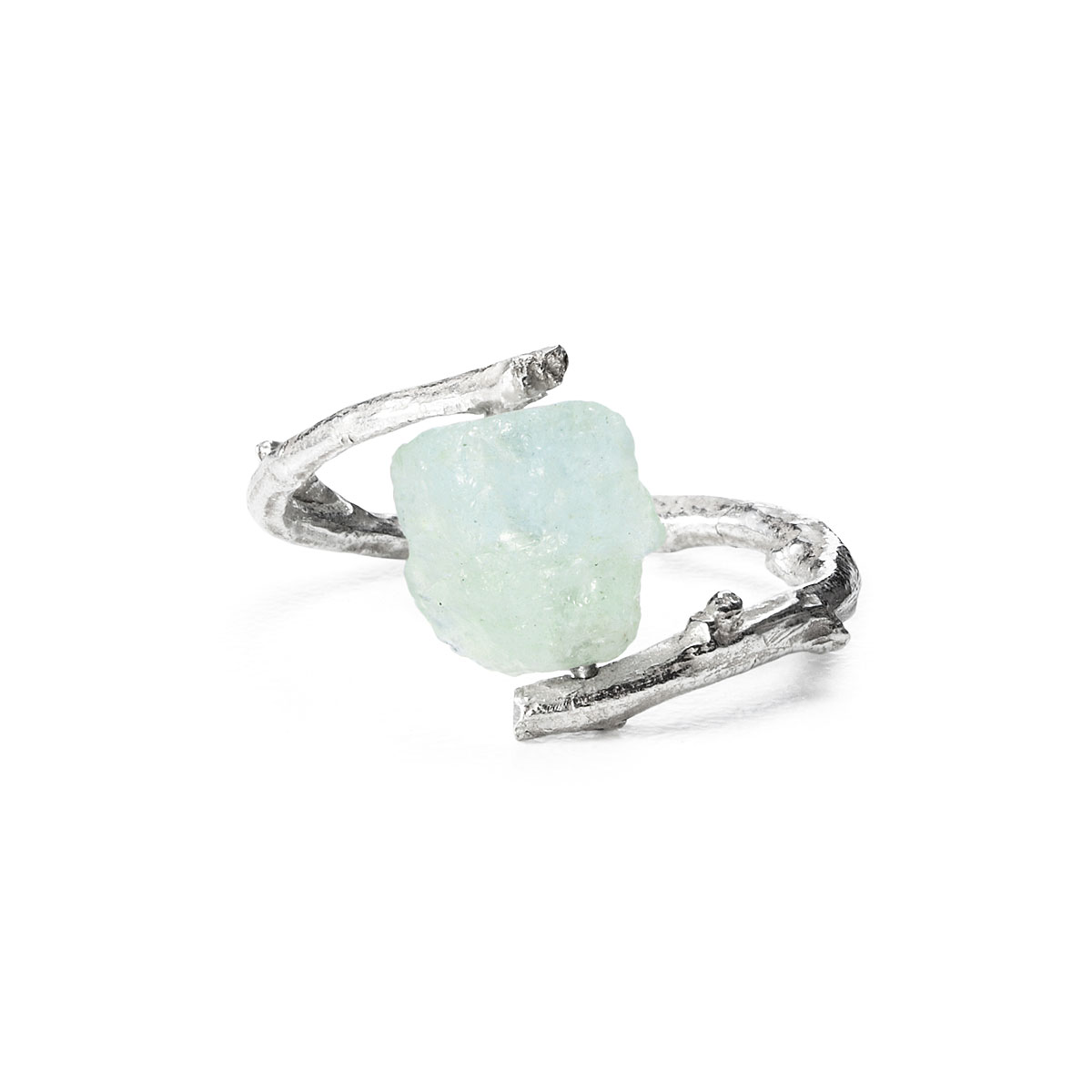 Aquamarine Branch Ring | UncommonGoods