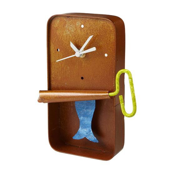 Sardine Wall Clock   UncommonGoods