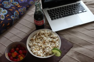 movie night in bed | UncommonGoods