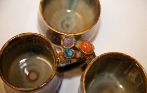 Donna Rollins' Handmade Mugs with a Healing Touch