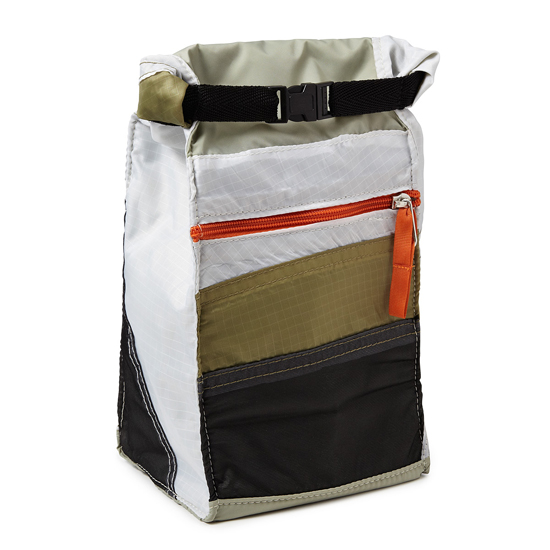 Upcycled Tent Lunch Bag | UncommonGoods