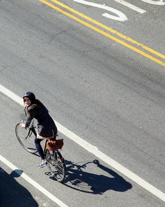 Jess Bikes to Work | UncommonGoods