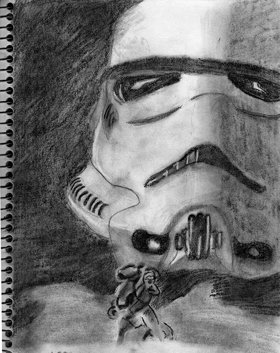 Star Wars Drawing by Elise Wehle | UncommonGoods