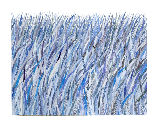 Security Blue Grass by Sarah Nicole Phillips | UncommonGoods