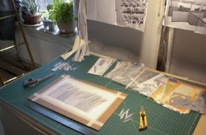 Sarah's studio space | UncommonGoods