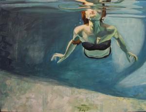 Swimming, Chloe Bulpin's winning design | UncommonGoods