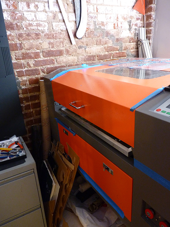 The laser cutter! | UncommonGoods