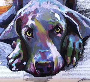 Karen Jones's custom pet portraits | UncommonGoods