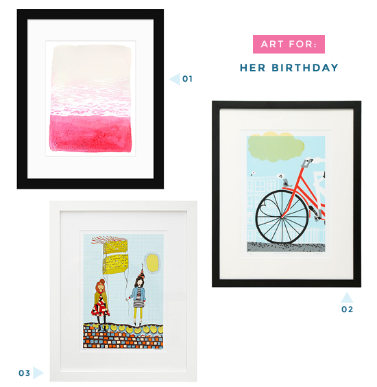 Birthday art for her | UncommonGoods