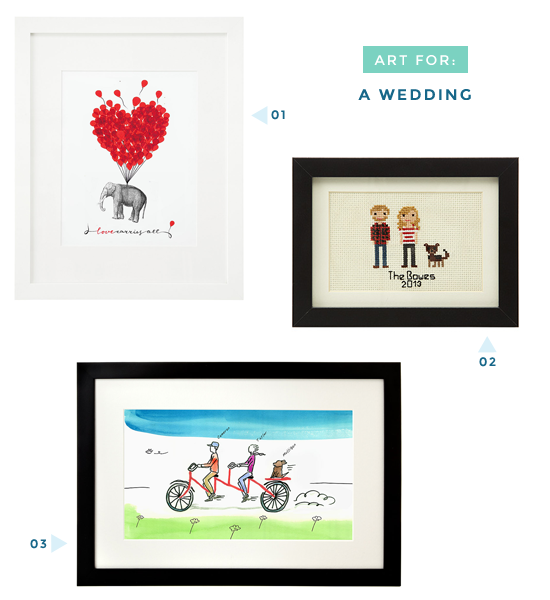 Art for wedding gifts | UncommonGoods