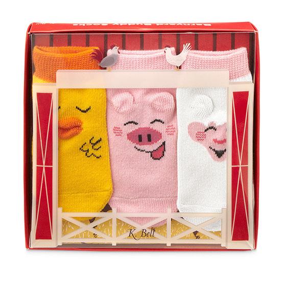 Barnyard Buddies Baby Socks | UncommonGoods