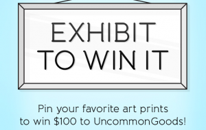 Pinterest Art Contest: Exhibit It to Win $100