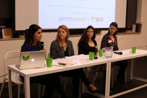 the panel of How To Make It: Designing Your Website | UncommonGoods