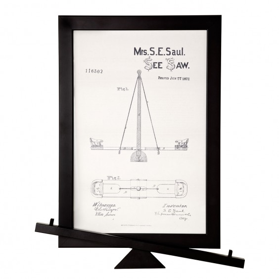 See Saw patent 116,502, 1871
