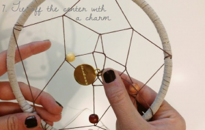 How To Make a Vegan Dream Catcher