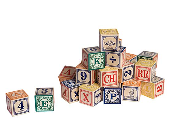 Foreign Language Blocks | UncommonGoods