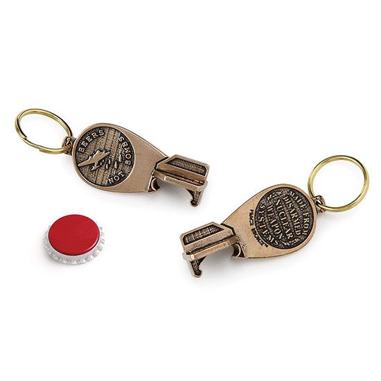 Bomb Keychain & Bottle Opener | UncommonGoods