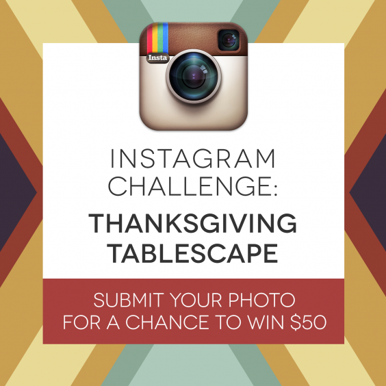 For Instagram - Tablescape