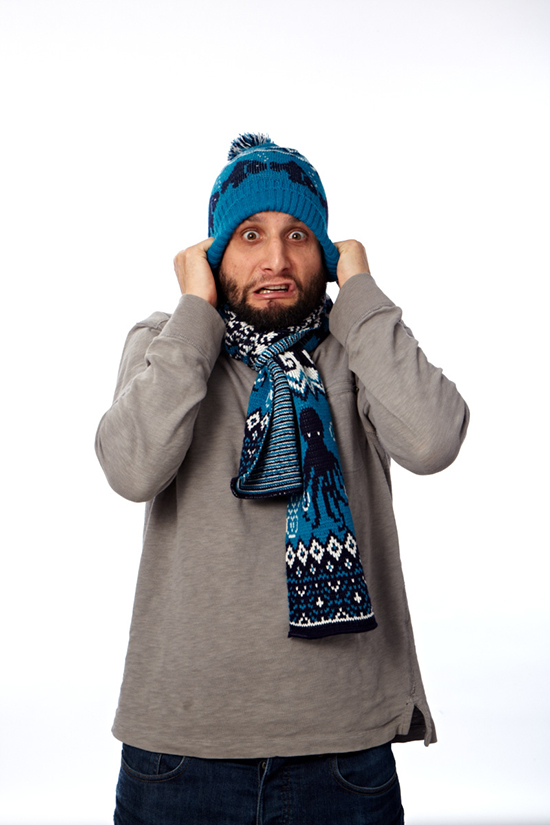 Winter Accessories Photo Shoot Outtakes | UncommonGoods