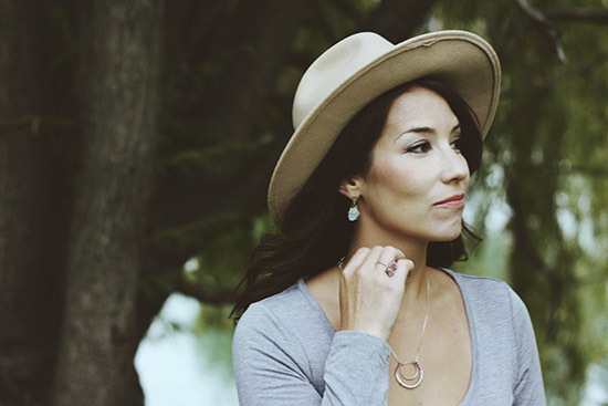 UncommonGoods Winter Jewelry Lookbook Bloggers