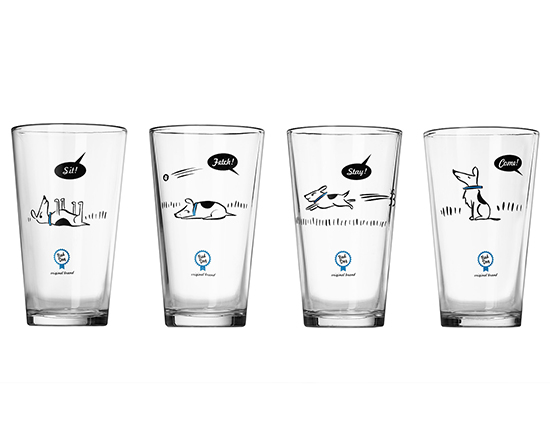 Bad Dog Tumblers | UncommonGoods