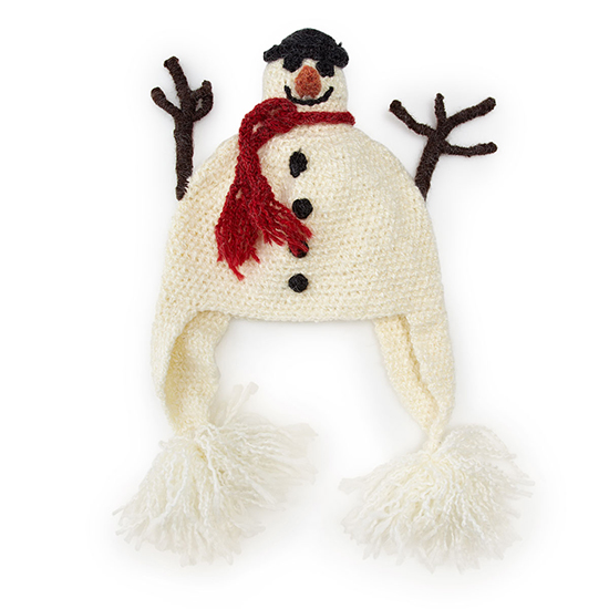 Kid's Snowman Hat | UncommonGoods