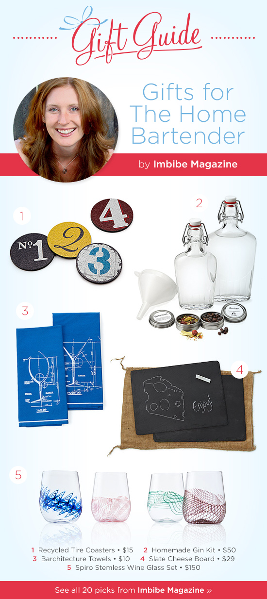 Gifts for the Home Bartender by Imbibe Magazine | UncommonGoods