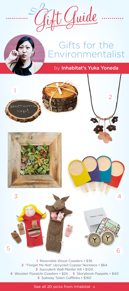 Gifts for the Environmentalist by Inhabitat | UncommonGoods