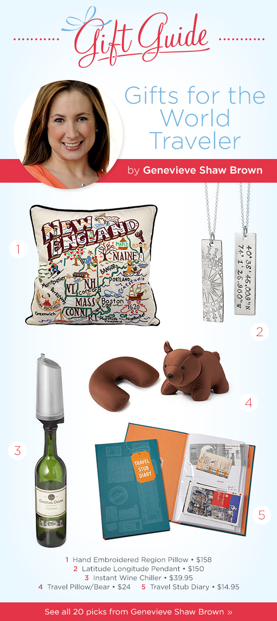 Gifts for the World Traveler by Genevieve Shaw Brown of ABC News | UncommonGoods