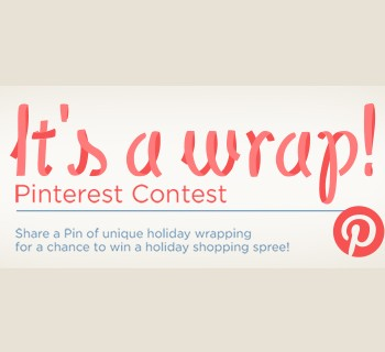 It's A Wrap Pinterest Contest