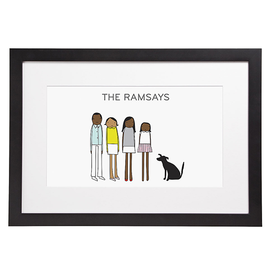 Personalized Family Portrait | $75 | UncommonGoods
