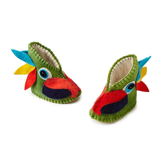 Parrot Booties | $28 | UncommonGoods