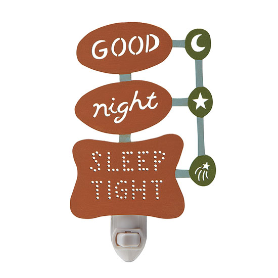 Good Night Sleep Tight Nightlight | UncommonGoods