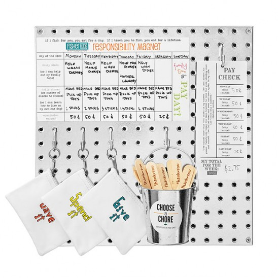 Kid's Responsibility Board | UncommonGoods
