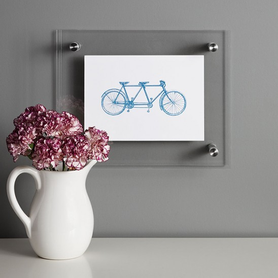 Letterpress Bicycle by Mitchell Pennell | UncommonGoods