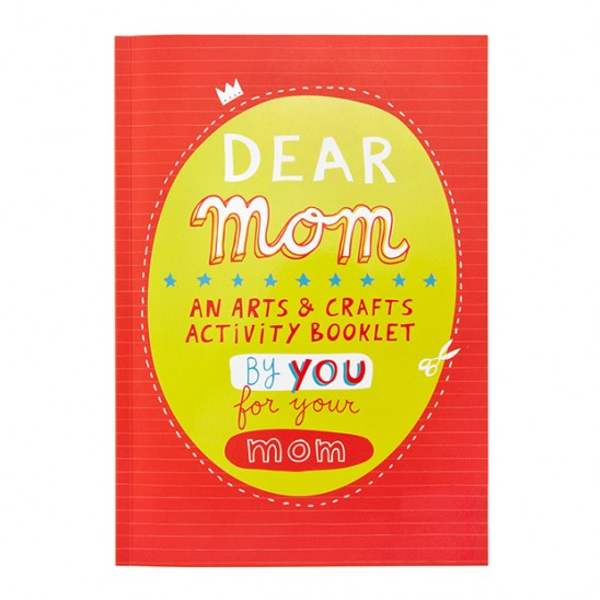 Dear Mom Arts & Crafts Book | UncommonGoods