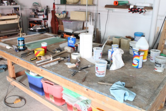 Ricky's workbench