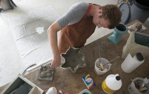 Ricky Giacco's Eco-Conscious Concrete Creations