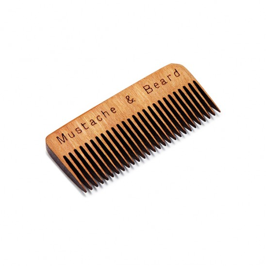 Wooden Whiskers Combs | UncommonGoods
