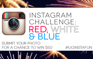 Instagram Challenge: RED, WHITE, & BLUE