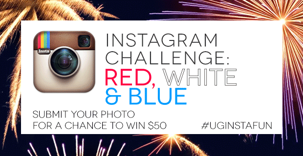 Instagram Challege | RED WHITE & BLUE | #UGInstaFun | UncommonGoods
