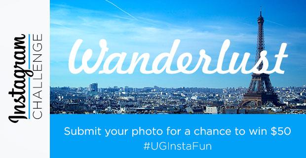 Instagram Challenge | #UGInstaFun | Wanderlust | UncommonGoods