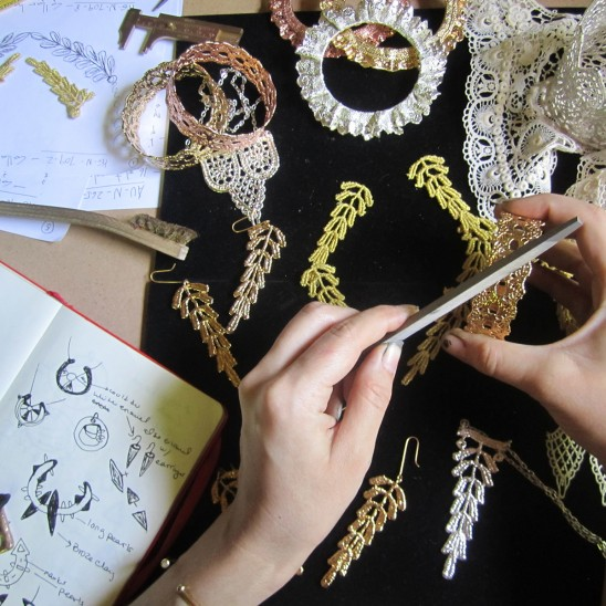 Creating Lace Bracelets | UncommonGoods
