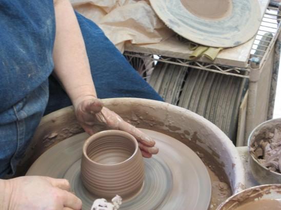 Molding into Elwood shaped mug